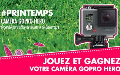 Gagnez votre Caméra GoPro Hero avec #BISCA