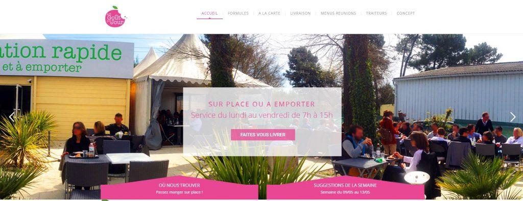 création site restaurant Mérignac