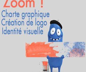 Zoom sur la création de logo, identité visuelle et charte graphique