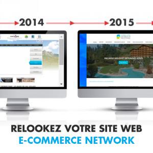 Relookez votre site internet : Comparaison Avant / Après