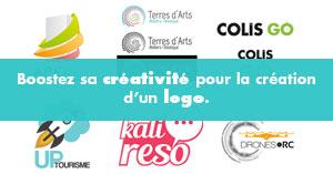Boostez sa créativité pour la création d'un logo.
